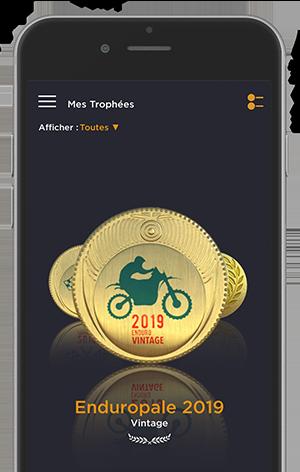 Mock up de l'application Air Trophy